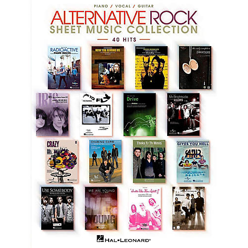 Hal Leonard Alternative Rock Sheet Music Collection Piano/Vocal/Guitar Songbook