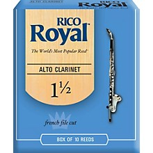 Alto Clarinet Reeds, Box of 10 Strength 1.5
