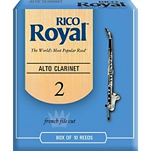 Alto Clarinet Reeds, Box of 10 Strength 2