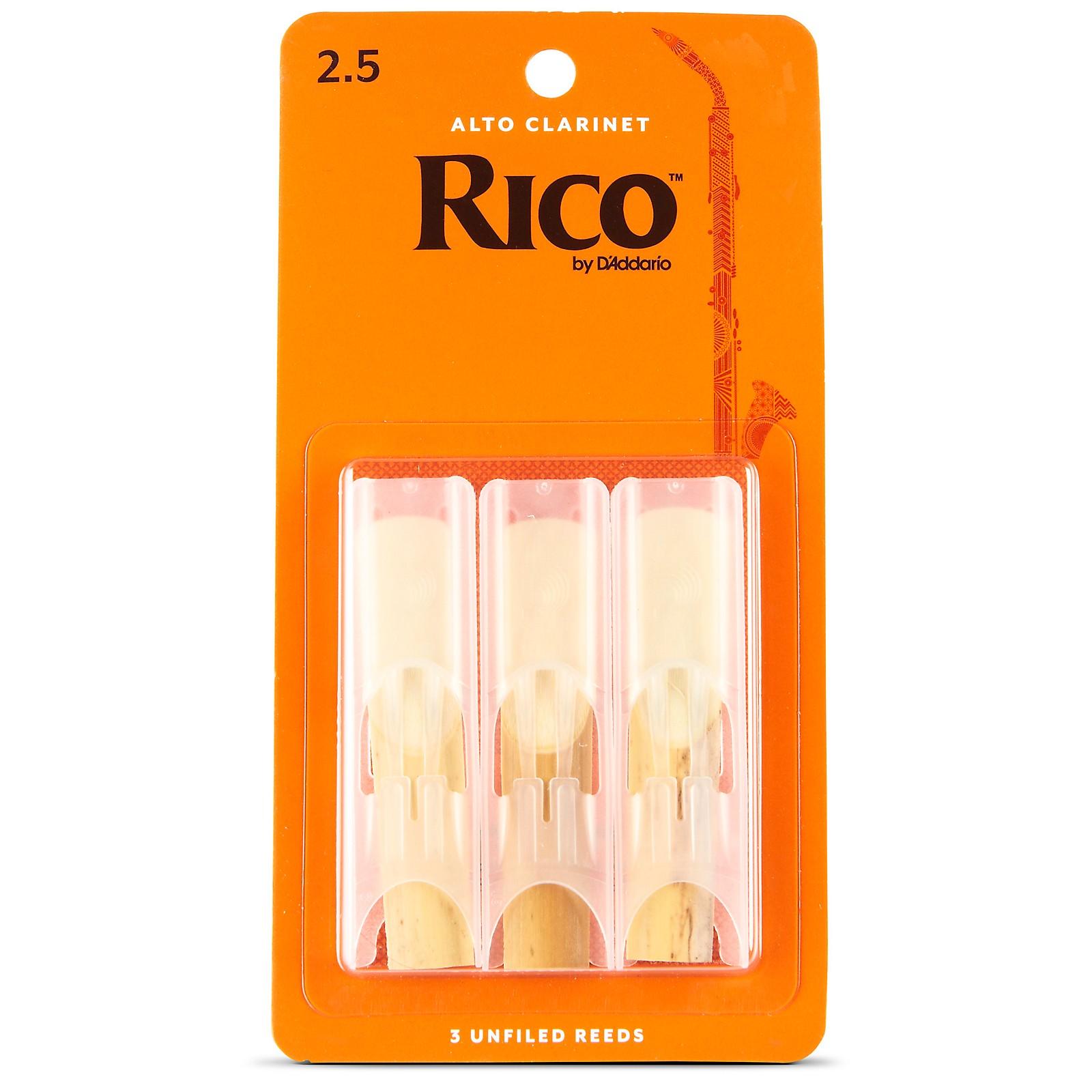 Rico Alto Clarinet Reeds, Box of 3
