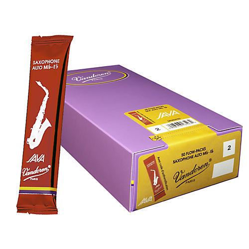 Vandoren Alto Sax Java Reed Box of 50