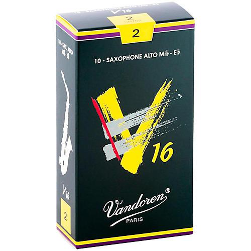 Vandoren Alto Sax V16 Reeds Strength 2 Box of 10