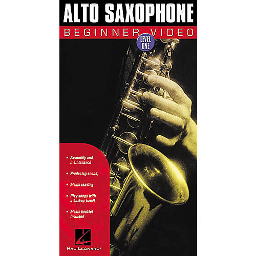 Hal Leonard Alto Saxophone Beginner Video - Level 1