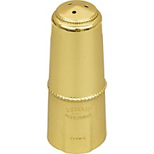 Alto Saxophone Mouthpiece Cap Gold Lacquer Cap - Inverted
