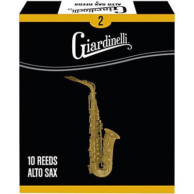 Giardinelli Alto Saxophone Reed 10-Pack