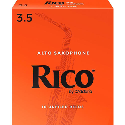 Rico Alto Saxophone Reeds, Box of 10 Strength 3.5