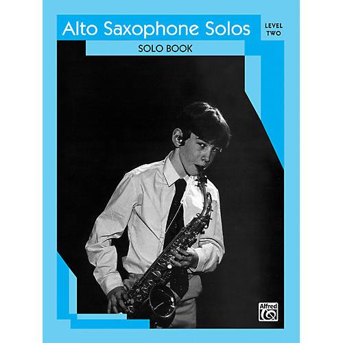 Alfred Alto Saxophone Solos Level II Solo Book