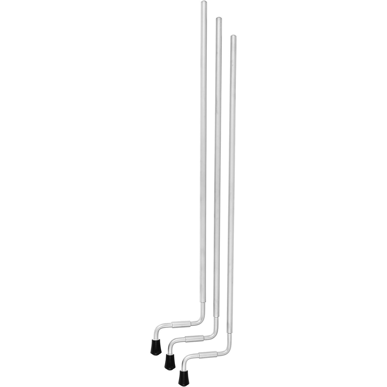 DW Aluminum Full Suspension Floor Tom Legs (Set of 3)