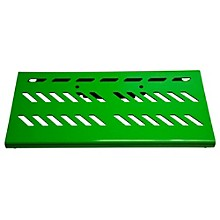 Aluminum Pedal Board - Large with Bag Green