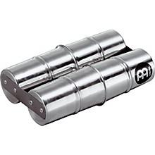 Aluminum Samba Double Shaker Silver Small