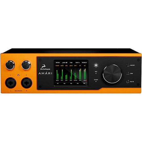 Antelope Audio Amari 2-Channel Mastering AD/DA Converter & Headphone Amplifier