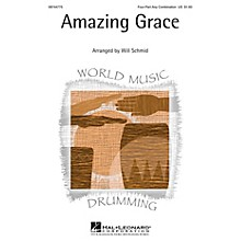 Hal Leonard Amazing Grace 4 Part arranged by Will Schmid