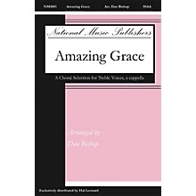 National Music Publishers Amazing Grace SSAA A Cappella arranged by Dan Bishop