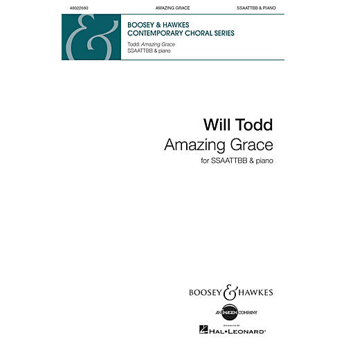 Boosey and Hawkes Amazing Grace SSAATTBB arranged by Will Todd