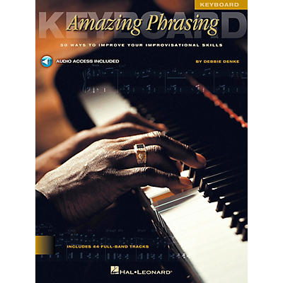 Hal Leonard Amazing Phrasing Book/CD Keyboard