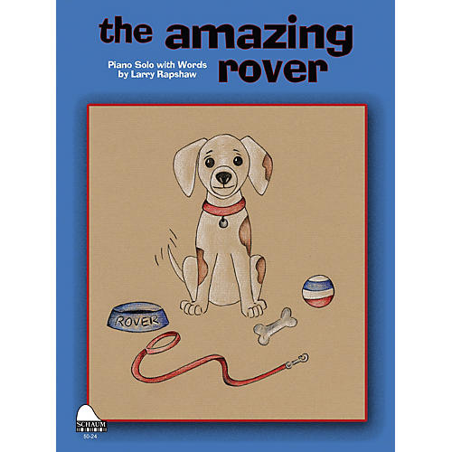 SCHAUM Amazing Rover Educational Piano Series Softcover