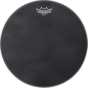 remo ambassador black suede snare side drum head matte black 13 musician 39 s friend. Black Bedroom Furniture Sets. Home Design Ideas