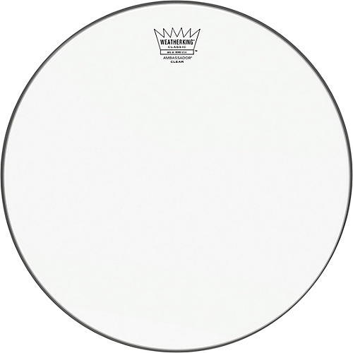 Remo Ambassador Clear Classic Fit Drum Head 14 in.