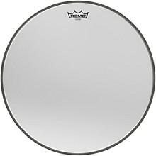 Ambassador Starfire Chrome Bass Drumhead 18 in.