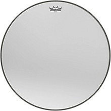 Ambassador Starfire Chrome Bass Drumhead 22 in.