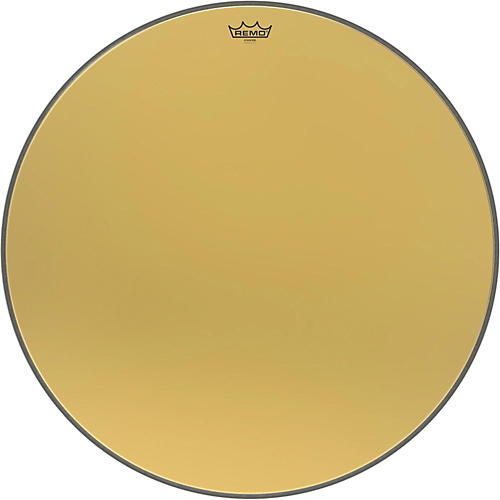 Remo Ambassador Starfire Gold Bass Drumhead