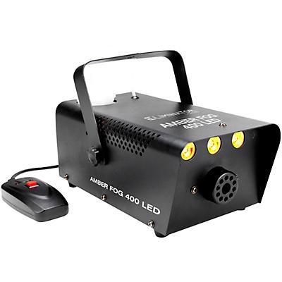 Eliminator Lighting Amber Fog 400 A 400 Watt Fog Machine With Amber LEDs On the Front To Illuminate The Fog.
