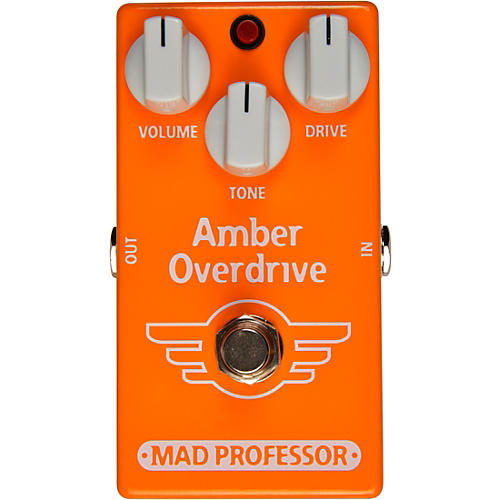 Mad Professor Amber Overdrive Effects Pedal