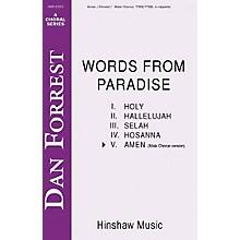 Hinshaw Music Amen TB composed by Dan Forrest