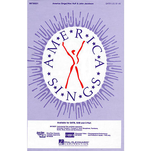 Hal Leonard America Sings! ShowTrax CD Composed by John Jacobson