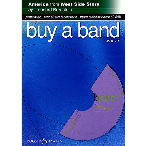 Hal Leonard America (from West Side Story) (Buy a Band No. 1) Instrumental Series CD-ROM