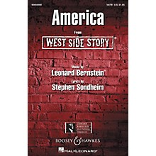 Hal Leonard America (from West Side Story) (SATB) SATB Arranged by William Stickles