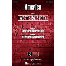 Leonard Bernstein Music America (from West Side Story) SSA Arranged by William Stickles