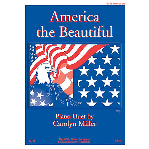 Willis Music America the Beautiful (1 Piano, 4 Hands/Early Inter Level) Willis Series