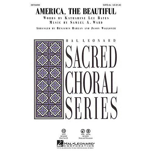 Hal Leonard America, the Beautiful CHOIRTRAX CD Arranged by Benjamin Harlan