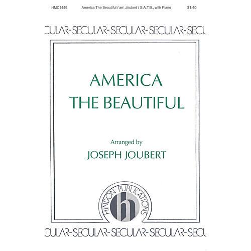 Hinshaw Music America the Beautiful SATB arranged by Joseph Joubert