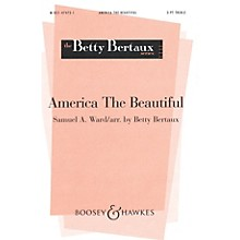 Boosey and Hawkes America the Beautiful SSA composed by Samuel A. Ward arranged by Betty Bertaux