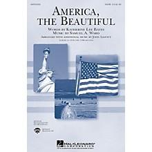 Hal Leonard America, the Beautiful (TTBB) TTBB Arranged by John Leavitt