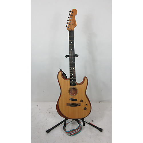American Acoustasonic Stratocaster Acoustic Electric Guitar