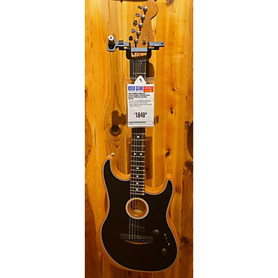 Fender American Acoustasonic Stratocaster Acoustic Electric Guitar