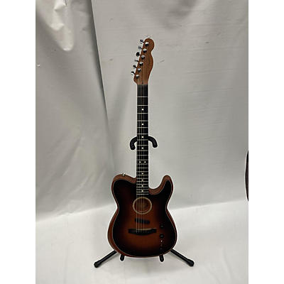 Fender American Acoustasonic Telecaster Acoustic Electric Guitar
