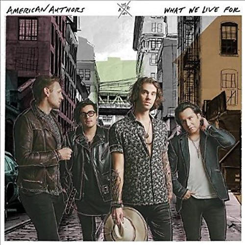 Alliance American Authors - What We Live For
