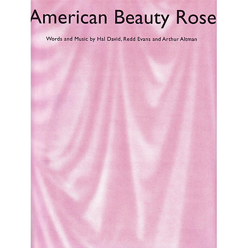 Music Sales American Beauty Rose Music Sales America Series