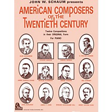SCHAUM American Composers Of 20th Cen Educational Piano Series Softcover