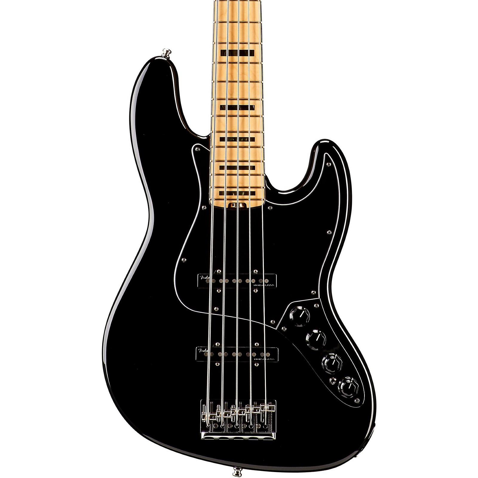 Fender American Elite Jazz Bass V Maple Fingerboard