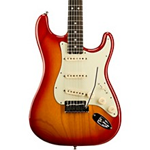 American Elite Stratocaster Ebony Fingerboard Electric Guitar Aged Cherry Burst
