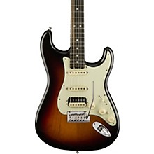 American Elite Stratocaster HSS Shawbucker Ebony Fingerboard Electric Guitar 3-Color Sunburst