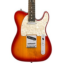 American Elite Telecaster Ebony Fingerboard Electric Guitar Aged Cherry Burst