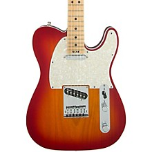 American Elite Telecaster Maple Fingerboard Electric Guitar Aged Cherry Burst