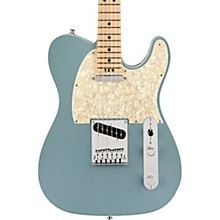 American Elite Telecaster Maple Fingerboard Electric Guitar Satin Ice Blue Metallic