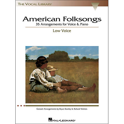 Hal Leonard American Folksongs for Low Voice (The Vocal Library Series)